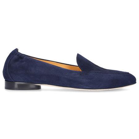 Truman's  Loafer 8983 Wildleder blau grau