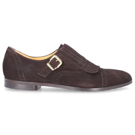 Truman's Monk Schuhe 8427 Veloursleder