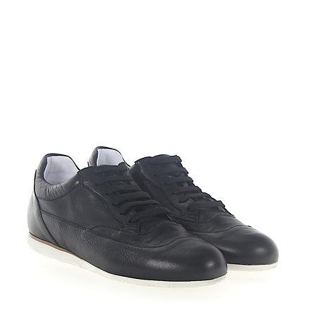 Truman's  Sneaker 8745 Kalbsleder  schwarz grau