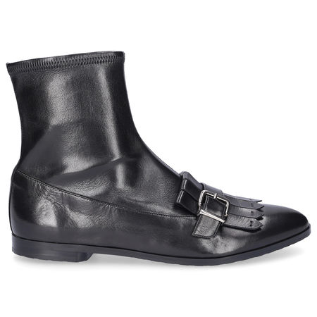 Truman's  Stiefel 8878 Nappaleder Fransen Metallisch schwarz
