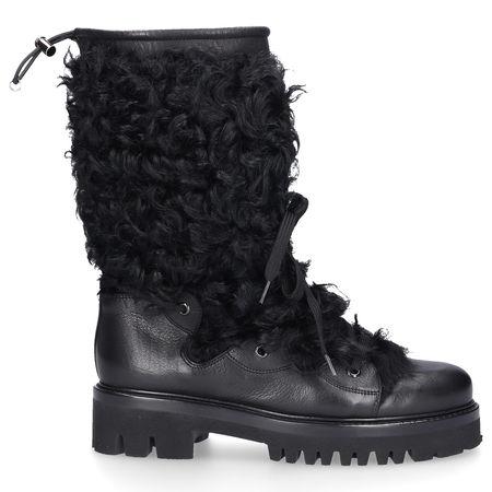 Truman's Stiefel 9006 Kalbsleder Lammfell schwarz schwarz