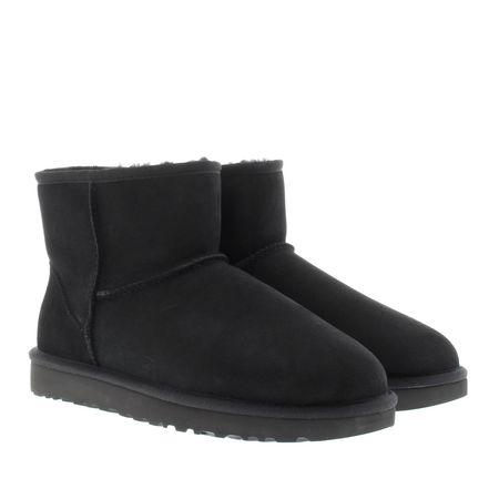 UGG  Boots & Stiefeletten - Classic Mini Boot - in schwarz - für Damen schwarz