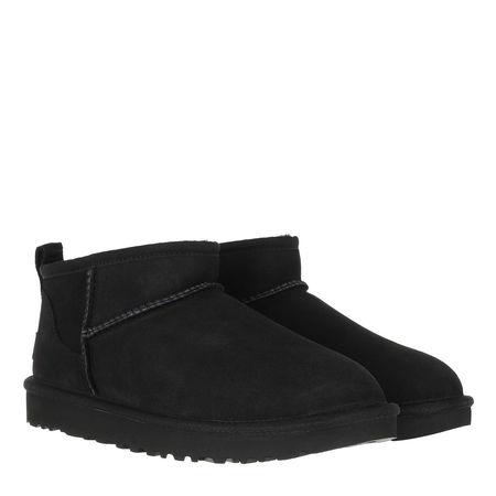 UGG  Boots & Stiefeletten - Classic Ultra Mini Classic Boot - in schwarz - für Damen schwarz