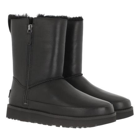 UGG  Boots & Stiefeletten - Classic Zip Short Boot - in schwarz - für Damen grau