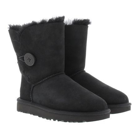 UGG  Boots & Stiefeletten - W Bailey Button II - in schwarz - für Damen schwarz