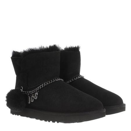 UGG  Boots & Stiefeletten - W Classic  Charm Mini - in schwarz - für Damen schwarz