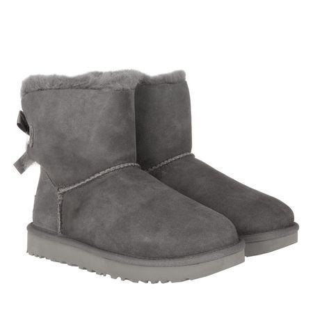 UGG  Boots & Stiefeletten - W Mini Bailey Bow II - in grau - für Damen grau