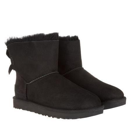 UGG  Boots & Stiefeletten - W Mini Bailey Bow II - in schwarz - für Damen schwarz
