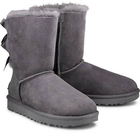 UGG , Boots Bailey Bow Ii in grau, Stiefel für Damen grau