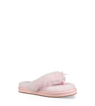 UGG  Fluff Flip Flop Iii Hausschuhe Damen Seashell Pink 36 braun