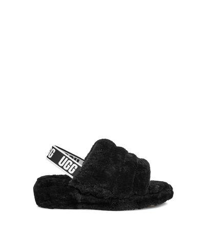 UGG  Fluff Yeah Slide Sandalen für Damen in Schwarz Größe 37.5