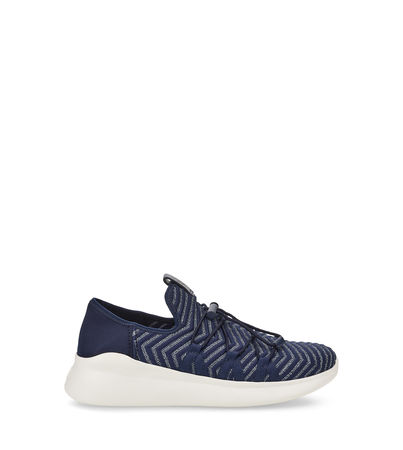 UGG  Kinney Metallic Sneaker Damen Navy 40 grau