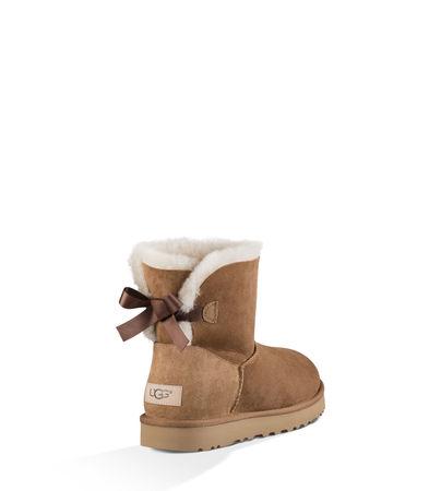 UGG  Mini Bailey Bow Ii Boot Damen Chestnut 36 braun