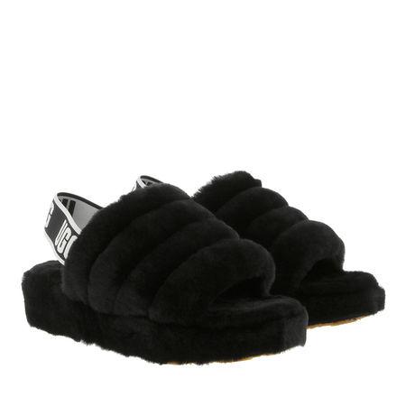 UGG  Sandalen & Sandaletten - Fluff Yeah Slide Slipper - in schwarz - für Damen schwarz