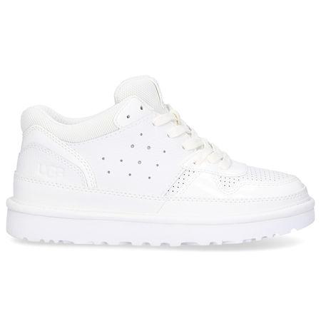 UGG Sneaker low HIGHLAND Kalbsleder weiß grau
