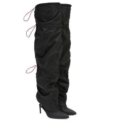 Unravel Overknee-Stiefel schwarz