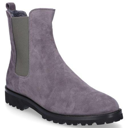 Unützer  Chelsea Boots 7429 Veloursleder grau grau