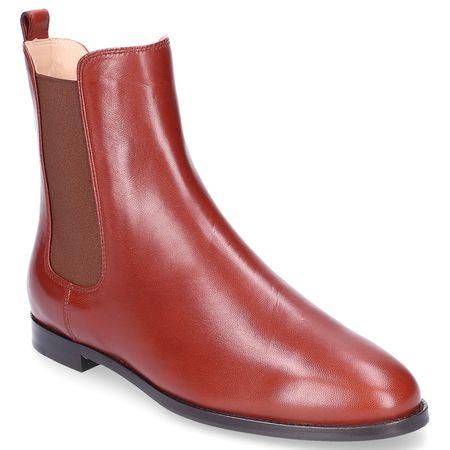 Unützer  Chelsea Boots 999 Nappaleder braun rot