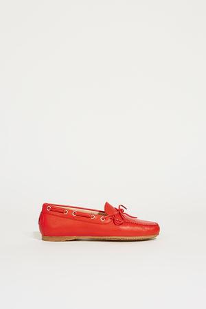 Unützer  - Leder-Schuh Rot
