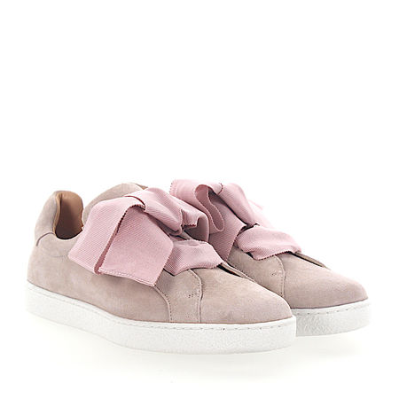 Unützer  Sneaker 8254 Veloursleder rosa braun