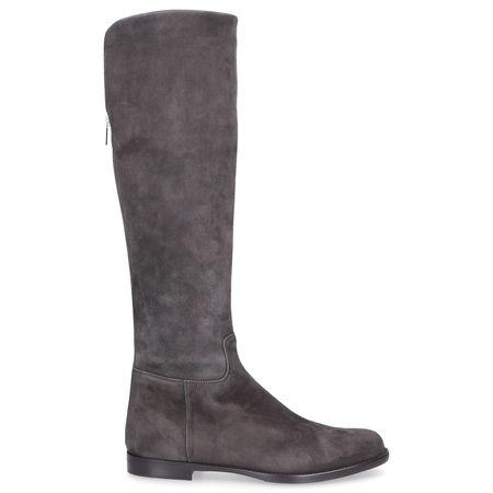 Unützer  Stiefel 2922  Wildleder grau grau