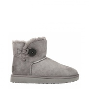 Ugg Mini Bailey Button Grau
