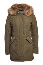 Woolrich Daunenparka Luxury Arctic mit Pelzkragen