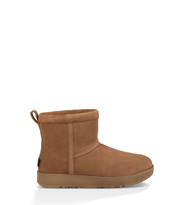 UGG Classic Mini Waterproof Boot Damen Chestnut 40