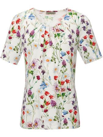 Uta Raasch Rundhals-Shirt  mehrfarbig