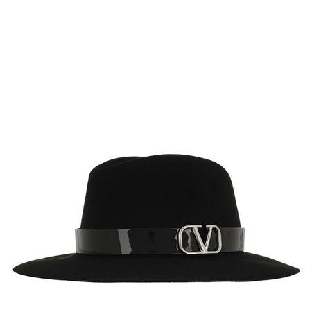 Valentino  Garavani Mützen - Fedora - in schwarz - für Damen