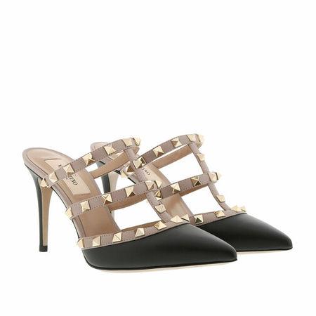 Valentino Garavani  Pumps & High Heels - Rockstud Pump Mule - in schwarz - für Damen