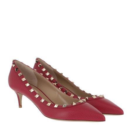 Valentino  Pumps & High Heels - Rockstud Pump 80 - in pink - für Damen pink