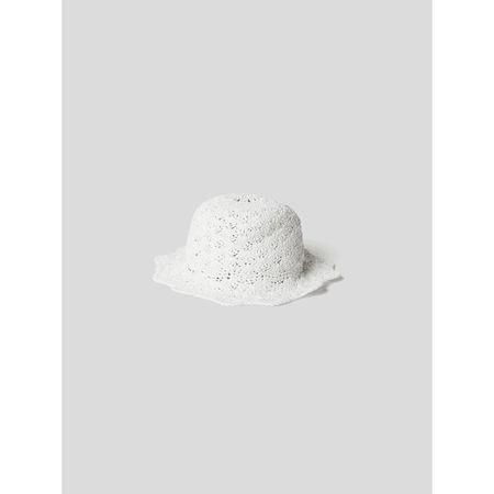 Valentino R.E.D. Bucket Hat in Flecht-Optik
