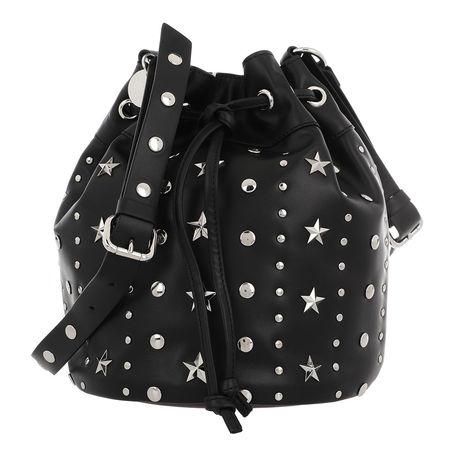 Valentino R.E.D. Red Valentino Beuteltasche - Bucket Bag - in schwarz - für Damen schwarz