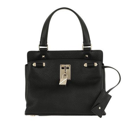 Valentino  Umhängetasche  -  Piper Small Grained Leather Black  - in schwarz  -  Umhängetasche für Damen schwarz