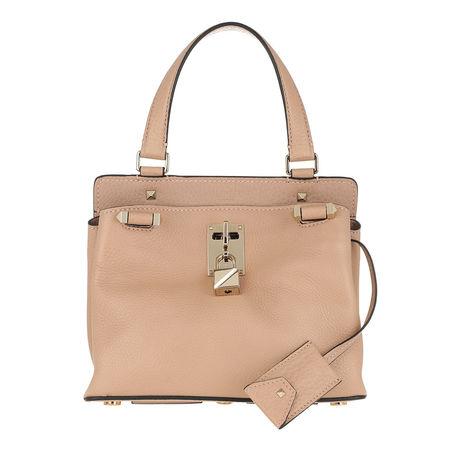 Valentino  Umhängetasche  -  Piper Small Grained Leather Sorbet  - in beige  -  Umhängetasche für Damen braun