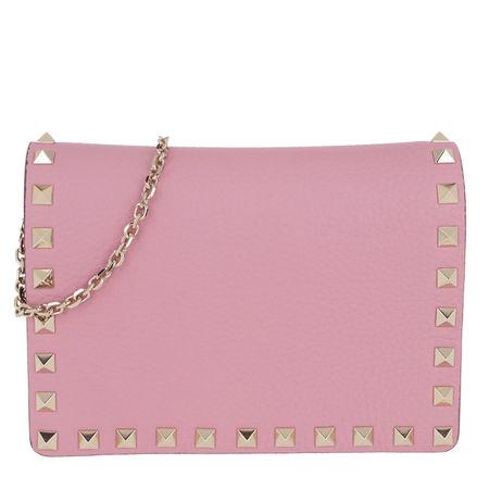 Valentino  Umhängetasche  -  Rockstud Crossbody Bag Blush Hyacinth  - in rosa  -  Umhängetasche für Damen rosa