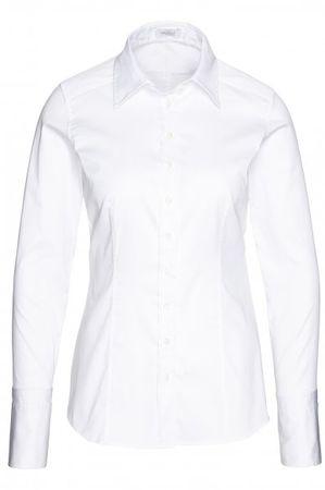 van Laack  Bluse ANNA in weiß grau