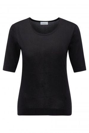 van Laack  Jersey Bluse CAROL in schwarz schwarz