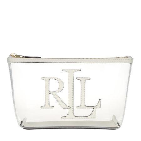 Lauren Ralph Lauren  Necessaire  -  Clear Cosmetic Bag Clear/Vanilla  - in weiß  -  Necessaire für Damen braun