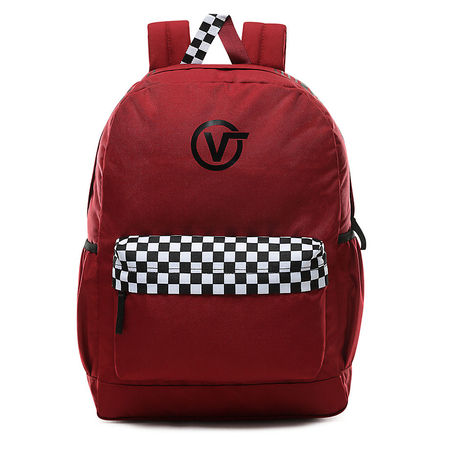 Vans  Sporty Realm Plus Rucksack (biking Red-final Lap) Damen Rot, One Size braun