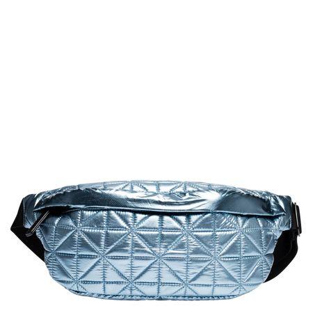 VeeCollective Vee Collective® - Handtasche aus Textilstoff in Blau für Damen, Größe UNI grau