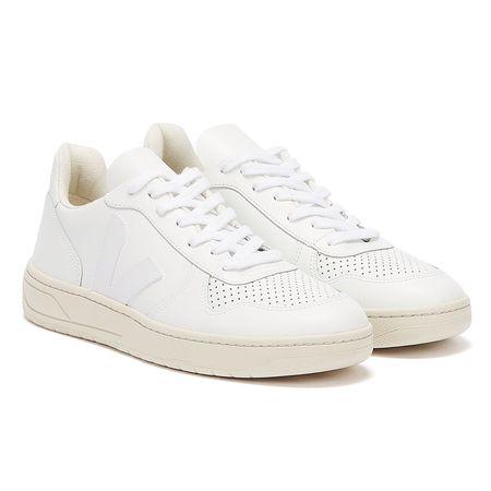 Veja  V-10 Extra Weiße Damen Sneaker