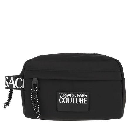 Versace  Jeans Couture Necessaire  -  Logo Tapes Toiletry Case Black  - in schwarz  -  Necessaire für Damen schwarz