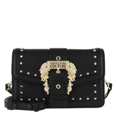Versace  Jeans Couture Satchel Bag  -  Studs Revolution Shoulder Bag Black  - in schwarz  -  Satchel Bag für Damen schwarz