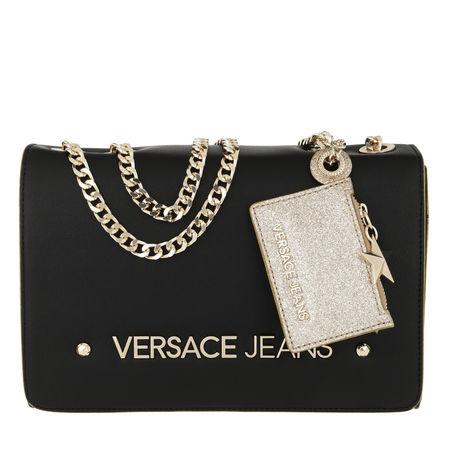 Versace Jeans  Tasche  -  Logo Crossbody Bag Black  - in schwarz  -  Tasche für Damen