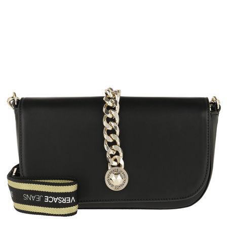 Versace Jeans  Umhängetasche  -  Chain Shoulder Bag Black  - in schwarz  -  Umhängetasche für Damen schwarz