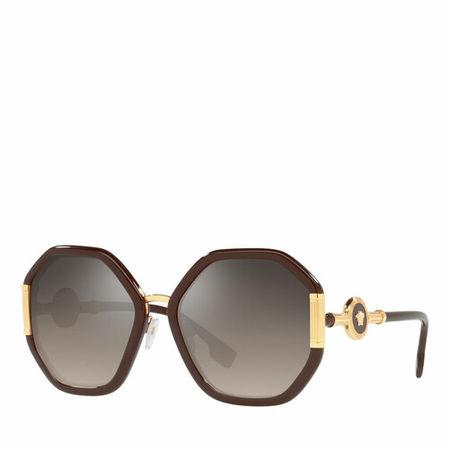 Versace  Sonnenbrille - Woman Sunglasses 0VE4413 - in brown - für Damen