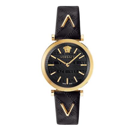 Versace  Uhr  -  Watch V-Twist Black  - in schwarz  -  Uhr für Damen schwarz