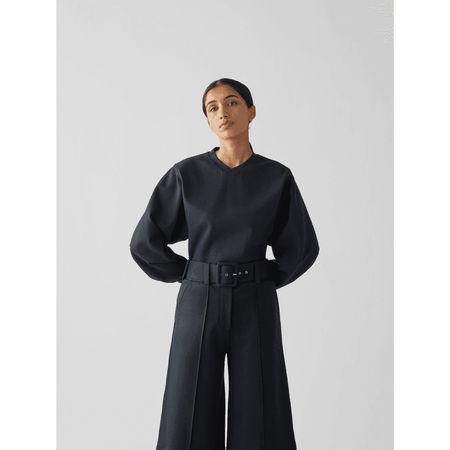 Victoria Beckham Sweatshirt mit Label-Detail